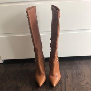 Michael Michael Kors tall tan boots - Size 6